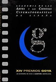 XIV premios Goya Poster