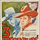Ray Corrigan, Robert Livingston, and Syd Saylor in The Three Mesquiteers (1936)