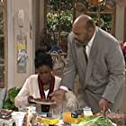 James Avery and Janet Hubert in The Fresh Prince of Bel-Air (1990)