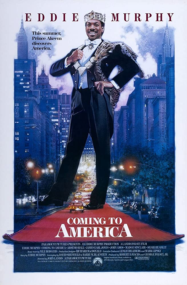 18+ Coming to America 1988 Hindi Dual Audio UNRATED 450MB BluRay ESub Download