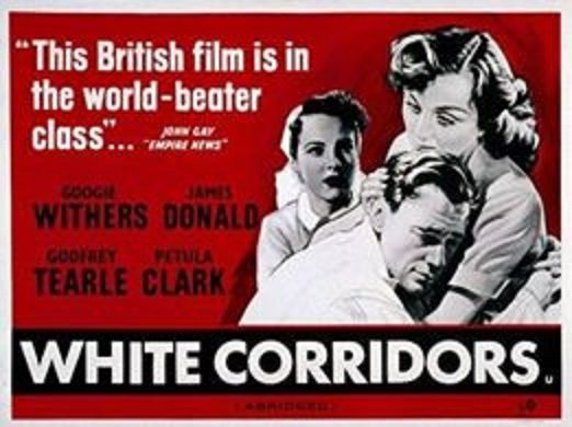 Petula Clark, James Donald, and Googie Withers in White Corridors (1951)