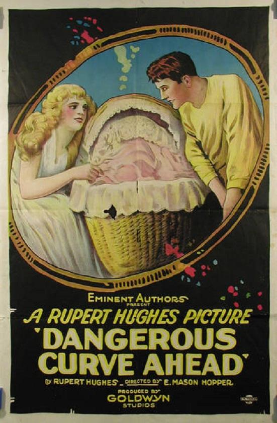 Helene Chadwick and Richard Dix in Dangerous Curve Ahead (1921)