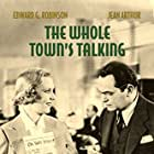 Edward G. Robinson and Jean Arthur in The Whole Town's Talking (1935)