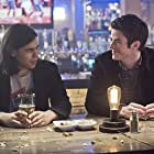Grant Gustin and Carlos Valdes in The Flash (2014)