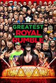 WWE Greatest Royal Rumble Poster
