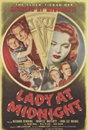 Lady at Midnight Poster
