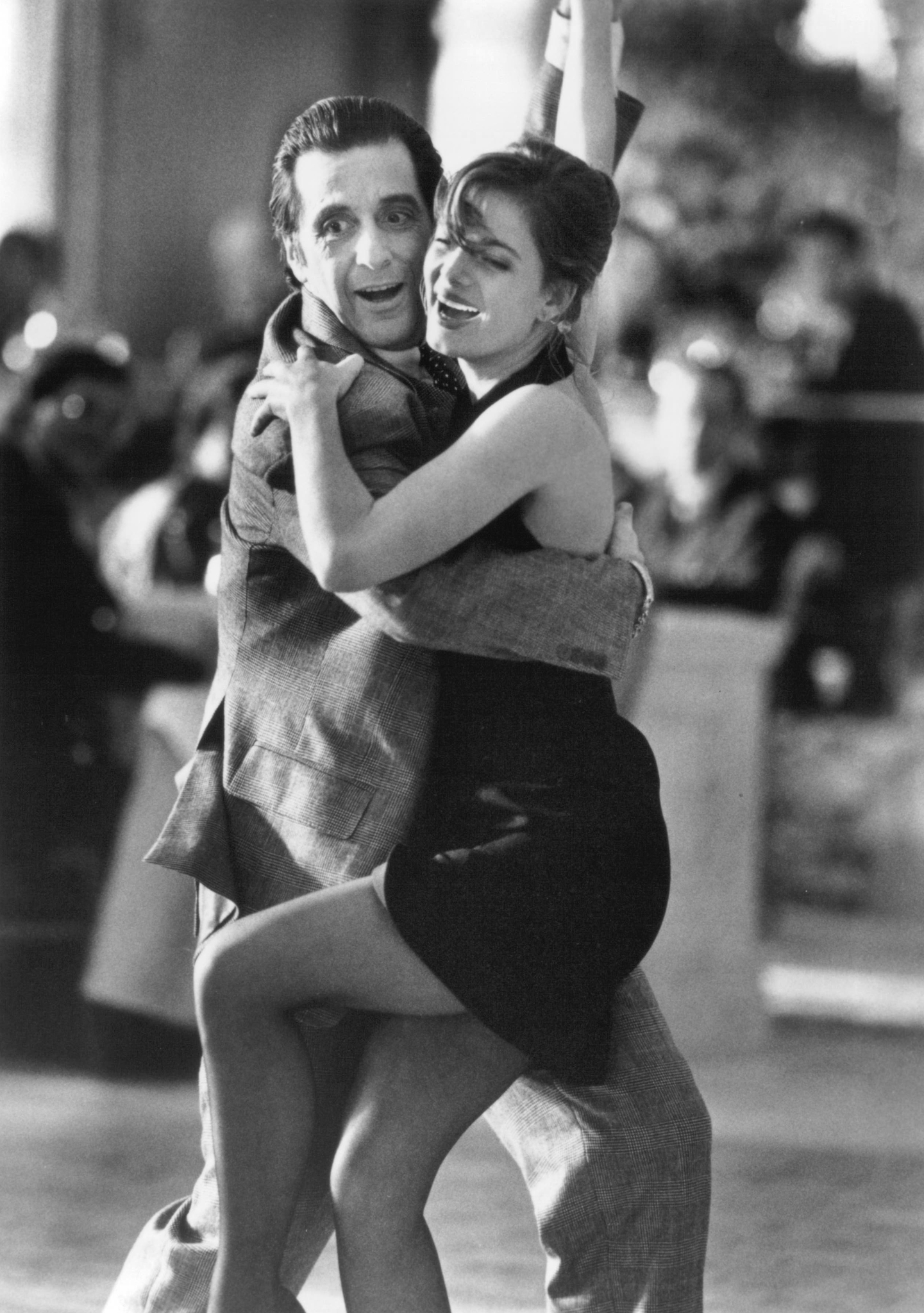 Al Pacino and Gabrielle Anwar in Scent of a Woman (1992)