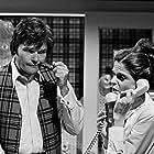 Gilda Radner and Fred Willard in Saturday Night Live (1975)