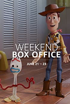 'Toy Story 4' topped the charts but came in below expectations. Here's a rundown of the top performers at the domestic box office for the weekend of June 21 to 23.
