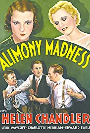 Alimony Madness Poster