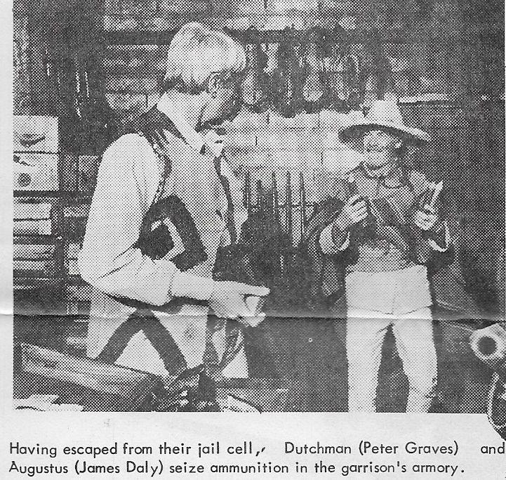 James Daly and Peter Graves in Un esercito di 5 uomini (1969)