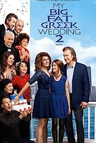 John Corbett, Lainie Kazan, Andrea Martin, Nia Vardalos, and Elena Kampouris in My Big Fat Greek Wedding 2 (2016)