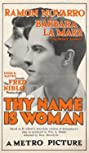Thy Name Is Woman (1924) Poster