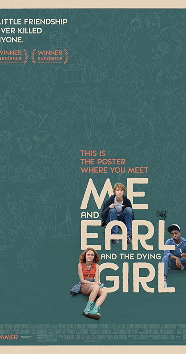 Subtitle of Me and Earl and the Dying Girl