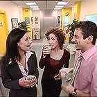 Luca Bizzarri, Claudia Barbieri, and Roberta Garzia in Camera Café (2003)