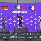 Sebastian Vettel, Sergio Pérez, and Pierre Gasly in 2021 Azerbaijan Grand Prix (2021)