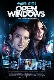 Elijah Wood and Sasha Grey in Open Windows (2014)
