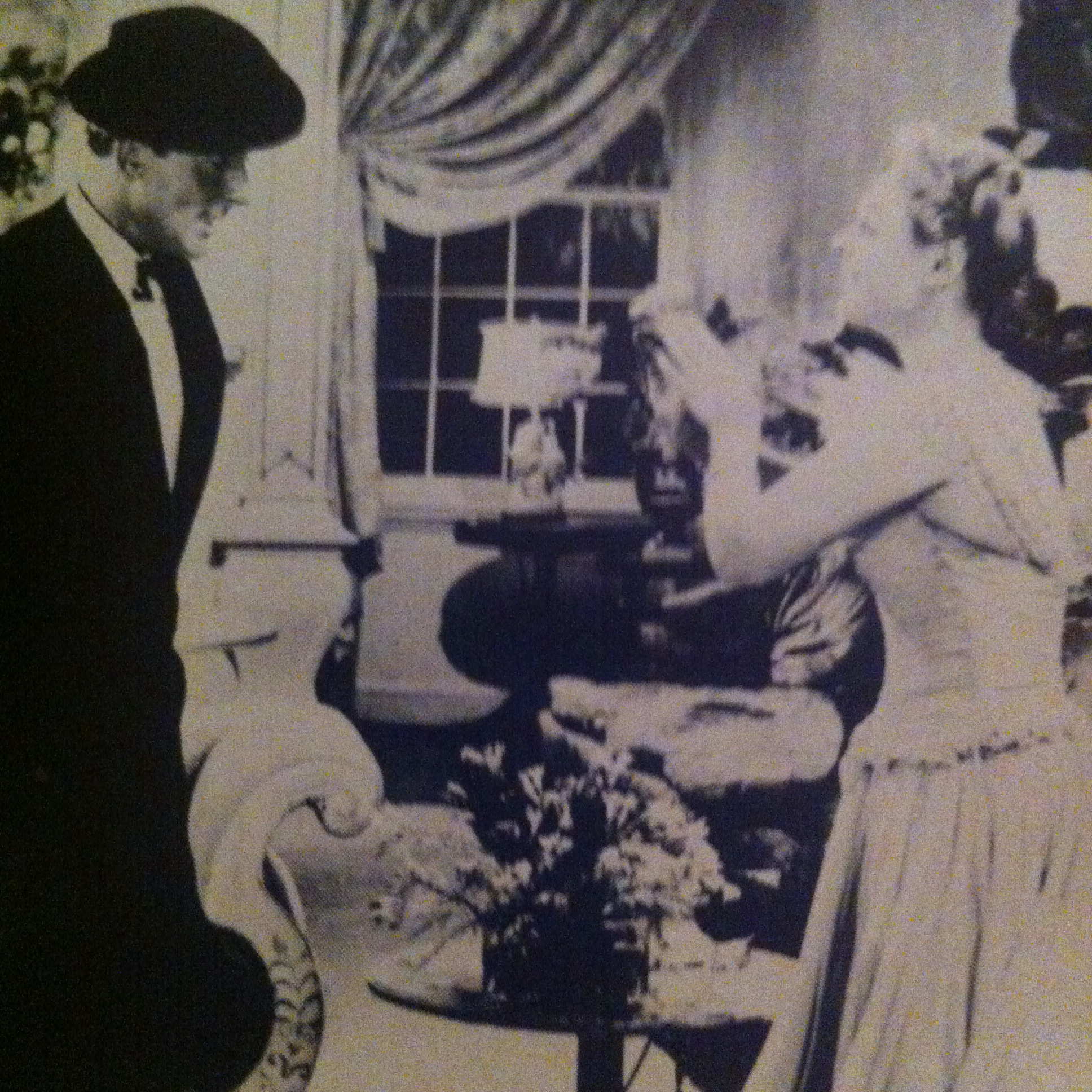 Anna Neagle and Michael Wilding in Maytime in Mayfair (1949)