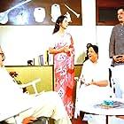 Utpal Dutt, Amol Palekar, and Dina Pathak in Golmaal (1979)