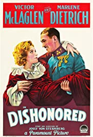 Dishonored(1931) Poster - Movie Forum, Cast, Reviews
