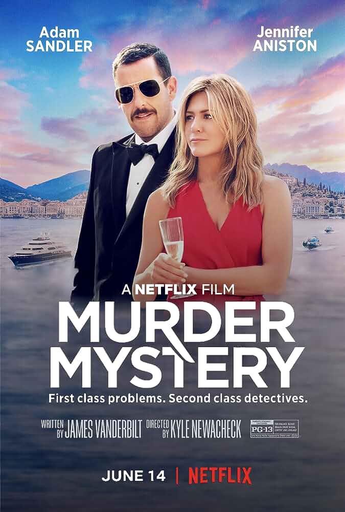 Murder Mystery (2019) 720p HEVC NF HDRip x265 MSubs [Dual Audio] [Hindi (Original) or English] [450MB]