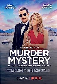 Jennifer Aniston and Adam Sandler in Murder Mystery (2019)