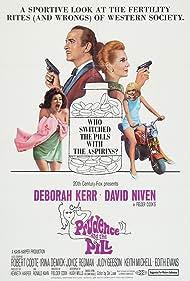Deborah Kerr, David Niven, Judy Geeson, and Joyce Redman in Prudence and the Pill (1968)