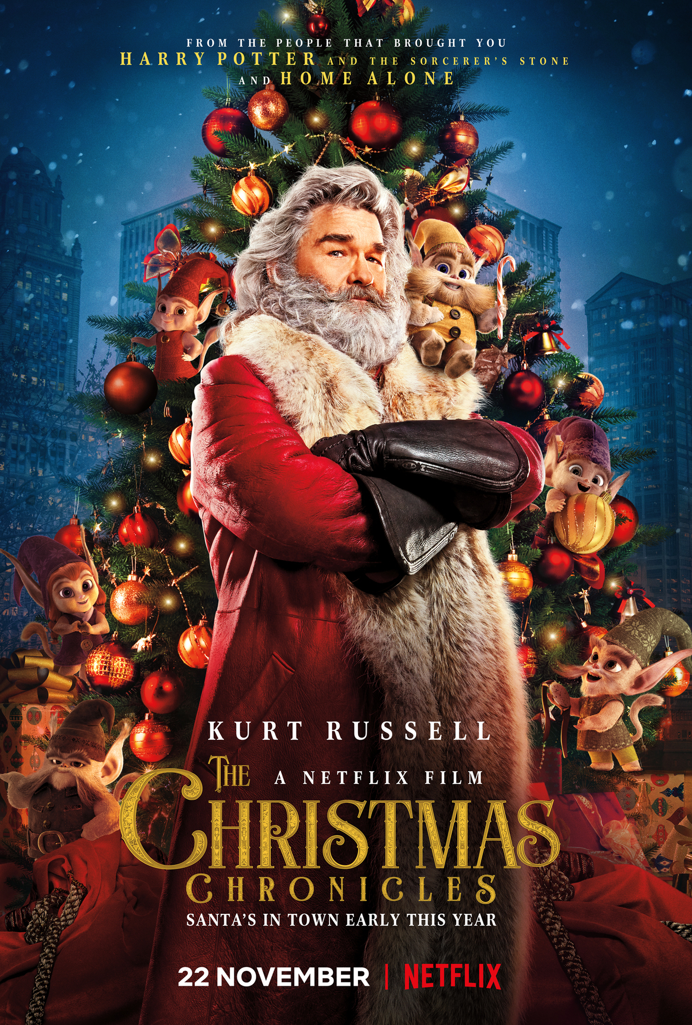 Image result for christmas chronicles movie poster