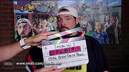 Kevin Smith is having a hard time keeping his promos for IMDb's coverage of San Diego Comic-Con G-rated.