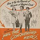 Eddie Bracken, William Demarest, and Ella Raines in Hail the Conquering Hero (1944)
