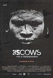 35 Cows and a Kalashnikov Poster