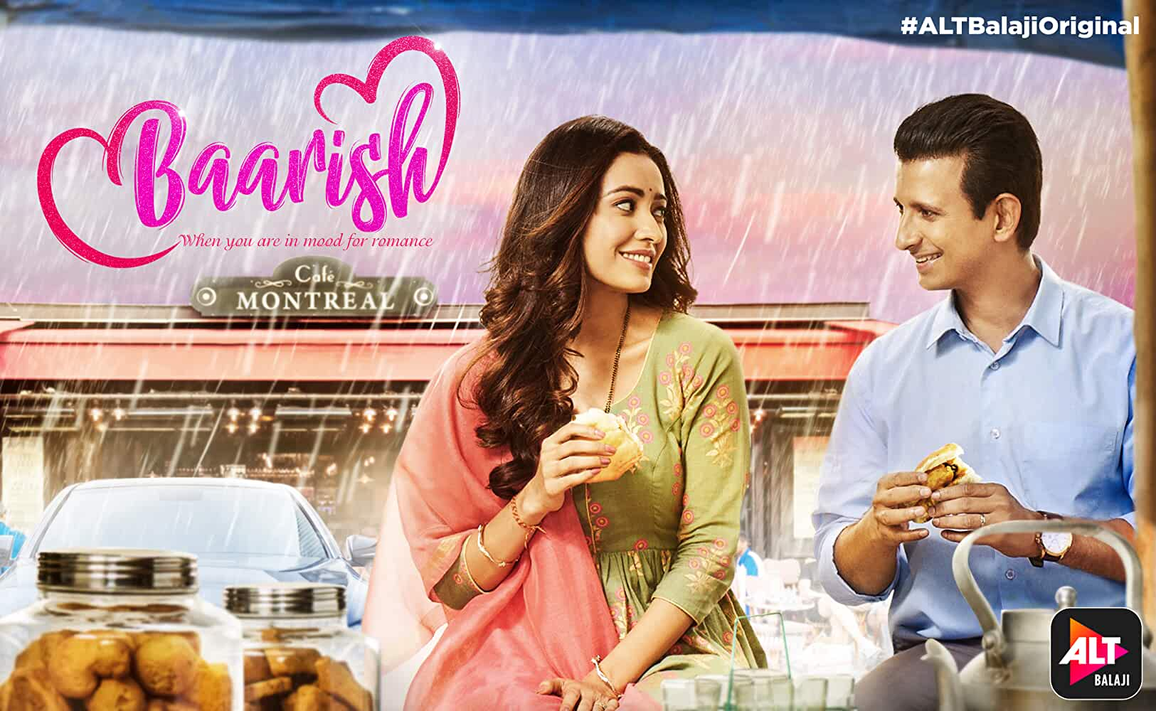 Sharman Joshi and Asha Negi in Baarish (2019)
