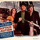Victor Mature, Robert Barrat, and Louise Platt in Captain Caution (1940)
