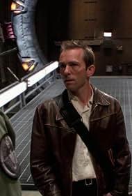 Matthew Bennett and Michael Shanks in Stargate SG-1 (1997)