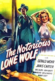 The Notorious Lone Wolf Poster