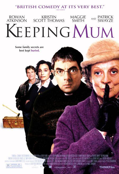 Rowan Atkinson, Kristin Scott Thomas, Patrick Swayze, and Maggie Smith in Keeping Mum (2005)