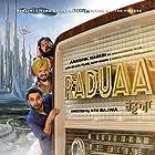 Mahabir Bhullar, Gurpreet Ghuggi, and Nav Bajwa in Raduaa (2018)