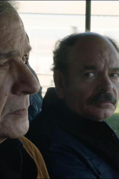 Jean-Pierre Darroussin and Gérard Meylan in Gloria Mundi (2019)