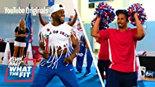 Cheerleading with Damon Wayans Jr.
