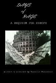 Meres orgis, ena rekviem gia tin Evropi Poster