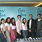 Junior Roberts and Hanggini at an event for Geez & Ann (2021)