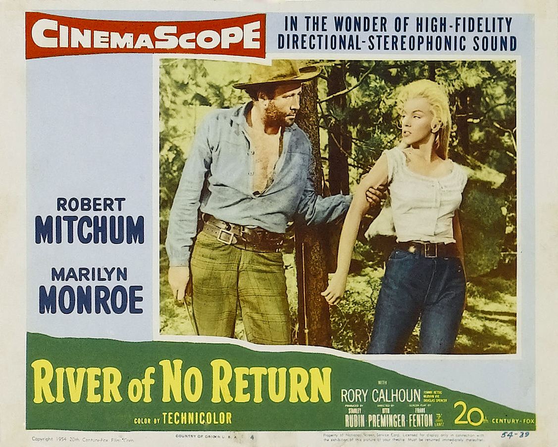 marilyn monroe river of no return full movie