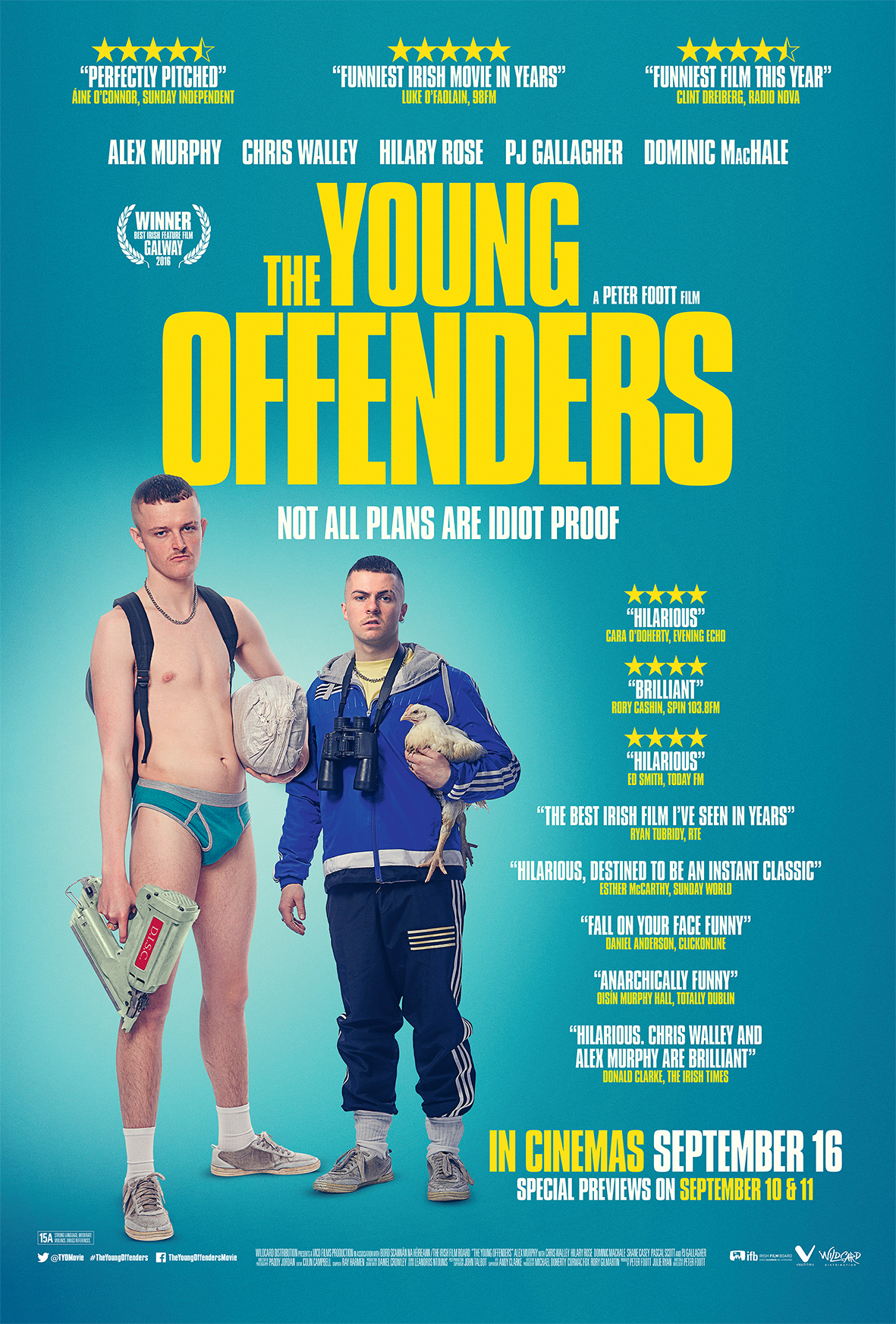 The Young Offenders (2016) BluRay 720p