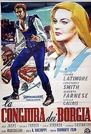 Conspiracy of the Borgias Poster
