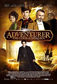 Sam Neill, Lena Headey, Michael Sheen, and Aneurin Barnard in The Adventurer: The Curse of the Midas Box (2013)