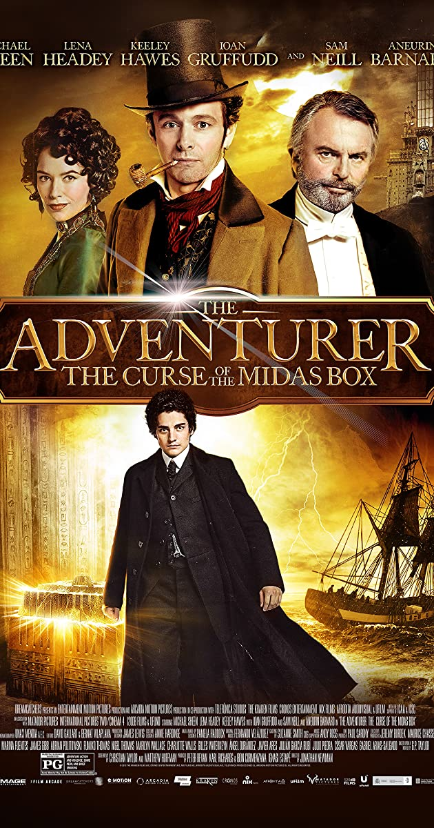 Subtitle of The Adventurer: The Curse of the Midas Box