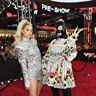 Paris Hilton and Kim Petras at an event for 2021 MTV Video Music Awards (2021)