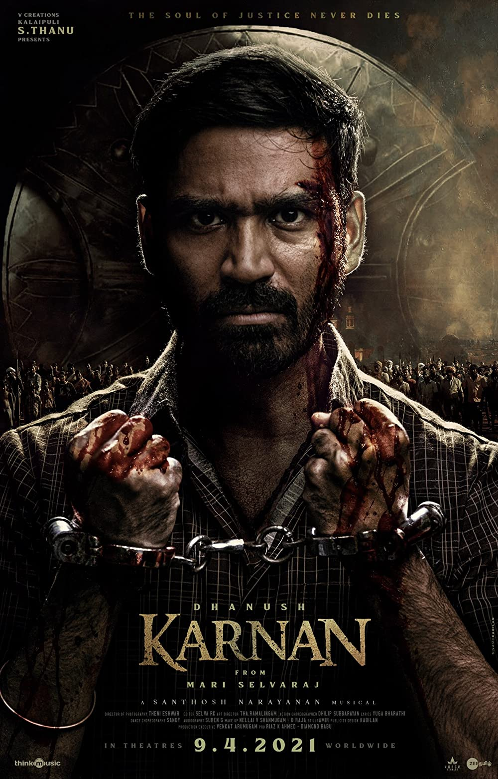 Karnan 2021 Tamil 720p HDRip 750MB Download