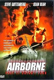 Sean Bean and Steve Guttenberg in Airborne (1998)