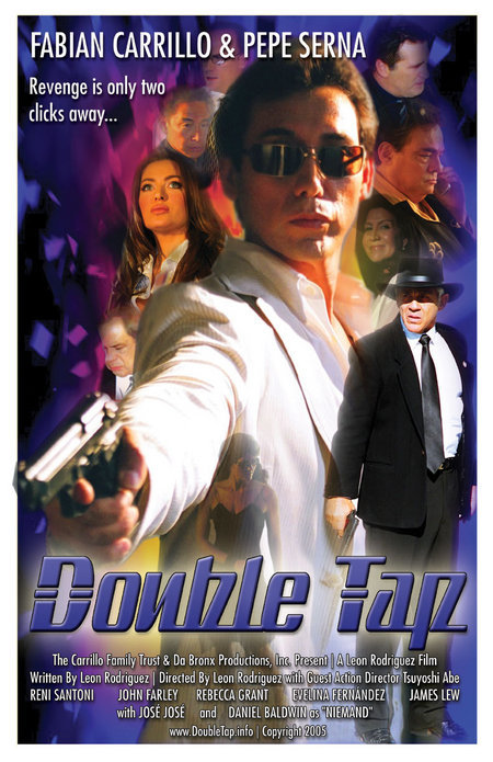 "POSTER OF ""DOUBLE TAP"""